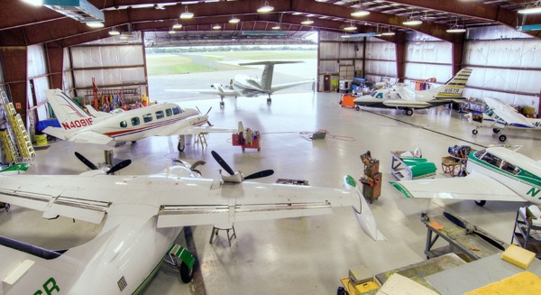Jet Air Maintenance Shop